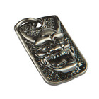 Room 101 Jewelry Stainless Hannya Dog Dogtag
