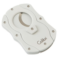 Colibri Cigar Cutters Double Guillotine With White Color Coated Blades