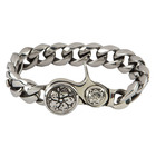 Room 101 Jewelry Stainless Sakura Clip 8.5 In. Bracelet