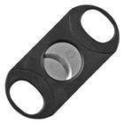 Cigar Savor Cigar Cutters Black Double-Bladed Guillotine