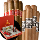 Cigar Samplers 10 Romeos & Montes Accessory Set