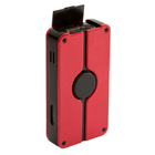 JetLine Cigar Lighters Bolero Triple Flame Red