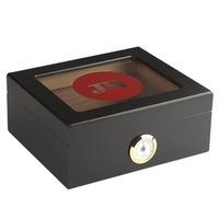 Cigar Humidors Glass Top Humidor with JR Logo