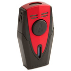 Lotus Cigar Lighters Red and Black Fury Double Torch