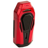 Colibri Cigar Lighters Boss Red and Black
