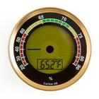 Hygrometers Digital Round Gold Caliber IV