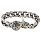 Room 101 Jewelry Stainless Coaster Bracelet 9.5 In.