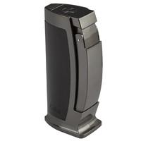Colibri Cigar Lighters Enterprise Table Lighter Black & Gunmetal