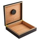 Cigar Humidors Black Wood 20-Cigar