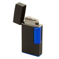 Colibri Cigar Lighters Julius Classic Black and Blue Flint Lighter