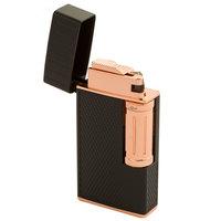 Colibri Cigar Lighters Julius Classic Black and Rose Flint Lighter