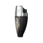 Colibri Cigar Lighters Black and Chrome Talon Single Jet Lighter