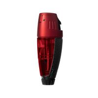 Colibri Cigar Lighters Talon Single Jet Lighter Black and Red