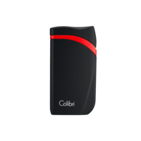 Colibri Cigar Lighters Falcon Black and Red Lighter