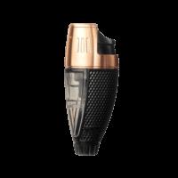 Colibri Cigar Lighters Talon Single Jet Lighter Black and Rose