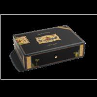 Elie Bleu Cigar Humidors Alba Wooden 110-Cigar Humidor