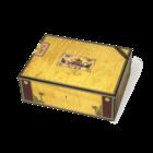 Elie Bleu Cigar Humidors Alba Yellow Sycamore 75-Cigar Humidor