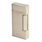 Elie Bleu Cigar Lighters Wide Cigar Flame Satin Platinum