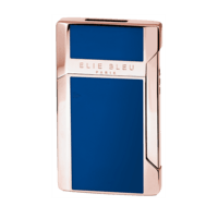 Elie Bleu Cigar Lighters Plano Jet Flame Blue Japanese Lacquer