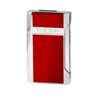 Elie Bleu Cigar Lighters Plano Jet Flame Red Japanese Lacquer
