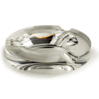Cigar Ashtrays Crystal 3-Cigar Circular Ashtray