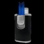 JetLine Cigar Lighters DT-101 Black Carbon Fiber Quad Flame Lighter
