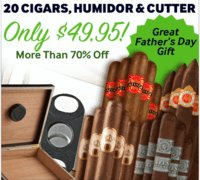 Cigar Samplers Happy Father's Day Collection
