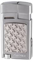 Xikar Cigar Lighters Forte Soft Flame Silver