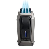 Colibri Cigar Lighters Quantum Gunmetal & Black Lighter