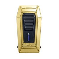 Colibri Cigar Lighters Quantum Gold & Black Lighter