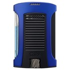Colibri Cigar Lighters Daytona Blue & Black Lighter