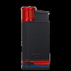 Colibri Cigar Lighters EVO Black & Red Lighter