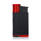 Colibri Cigar Lighters EVO Black & Red Lighter
