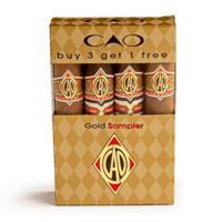 Cigar Samplers CAO Gold Sampler