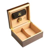 Cigar Humidors Ash Burl Humidor Small