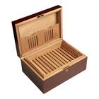 Cigar Humidors Mahogany Matte Large