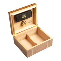 Cigar Humidors Ironwood Marquetry Humidor Small