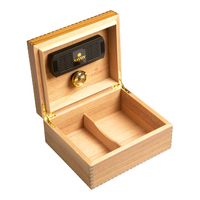 Cigar Humidors Marquis Caramel Small Elm