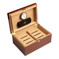 Cigar Humidors Ashton Mahogany Large Humidor