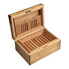 Cigar Humidors Olive Ash Burl Medium