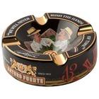Cigar Ashtrays Arturo Fuente Hands of Time Black Ceramic