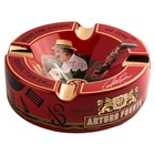 Cigar Ashtrays Arturo Fuente Hands of Time Red Ceramic