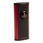 Lotus Cigar Lighters Citadel Flat Flame Black & Red