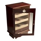 Prestige Cigar Humidors Belmont Bronze & Mahogany 600 Cigar