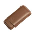 Cigar Cases 3 Finger Brown Toro