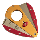 Xikar Cigar Cutters Gold and Red