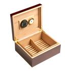 Cigar Humidors 50ct  Burlwood