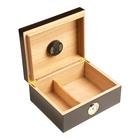 Cigar Humidors 50ct Rembrandt Black Walnut