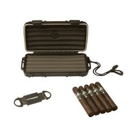 Cigar Samplers Paradigm Humidor, Cutter, 5 Cigars