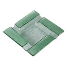 Visol Ashtrays Tanner Square Glass